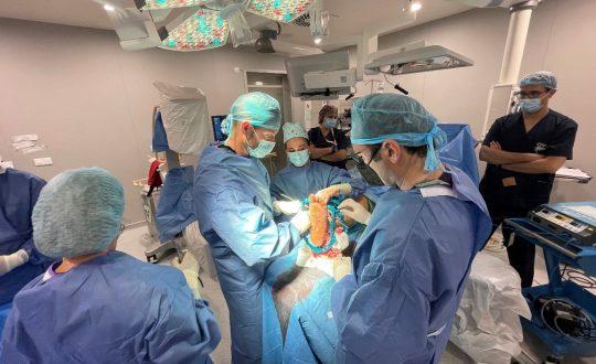 Cirugía de pie diabético complejo